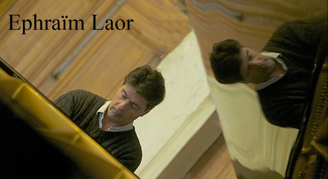 Ephraim Laor au piano page accueil home